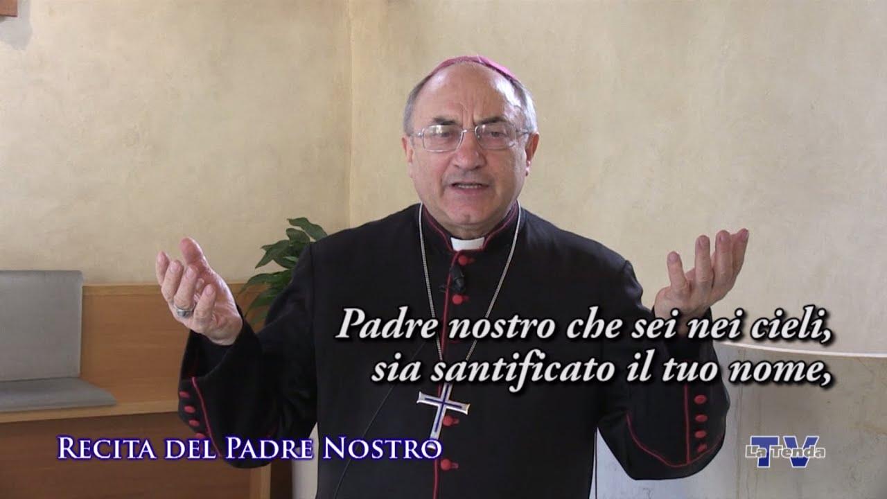 Recita del Padre Nostro col vescovo Corrado Pizziolo