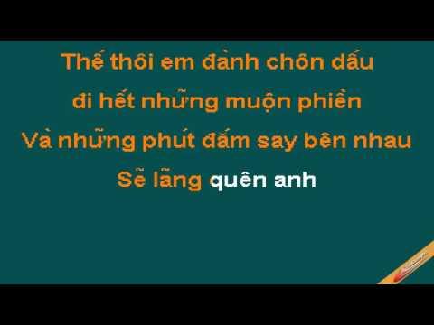 Mua Roi Lanh Cam Goc Pho Quen Karaoke - Phạm Thanh Thảo - CaoCuongPro