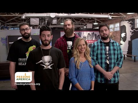 Epic Meal Empire and Feeding America Team Up for PSA on FYI Channel
