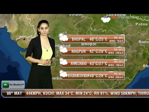 06/05/14 - Skymet Weather Report for India