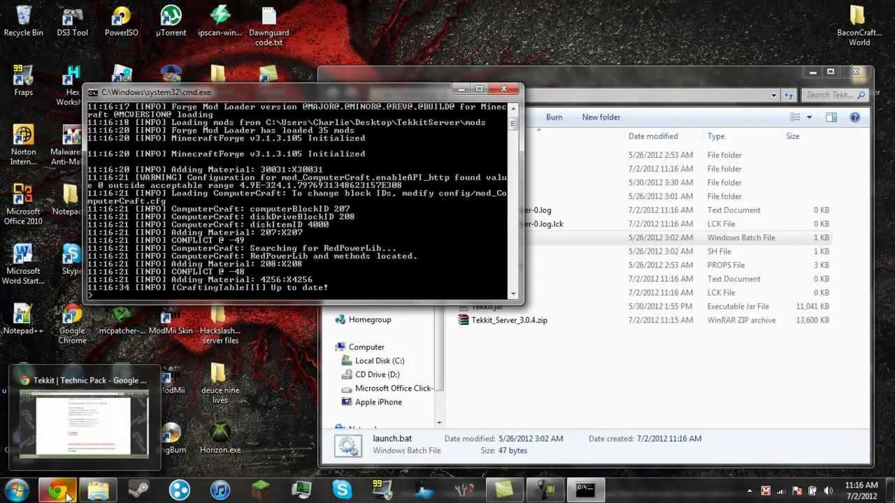 Minecraft Forge Server Install - Minecraft forge server erstellen 1 7 10
