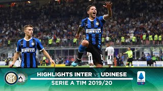 INTER 1-0 UDINESE | HIGHLIGHTS | Sensi-goal: three games, three wins!