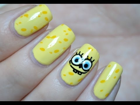 SpongeBob NailArt