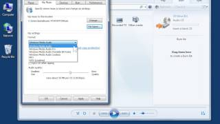 Windows 7 Change Settings For Ripping Music In Windows