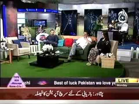 GHULAM ABBAS GUL IN AAJ SUBH MORNING SHOW PART 2