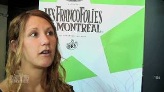 Amylie - Press Conference, 2010 Outdoor Concerts (in French)