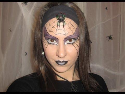 Feketeözvegy smink Halloweenre
