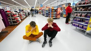WE LOST OUR LITTLE SISTER IN WALMART..