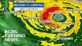 Tracking Hurricane Michael's path