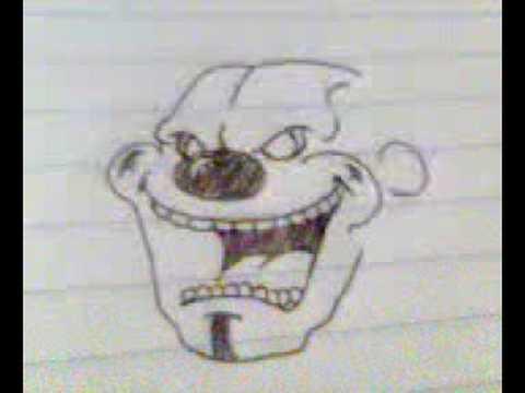 Payaso diabolico dibujo lapiz - Imagui