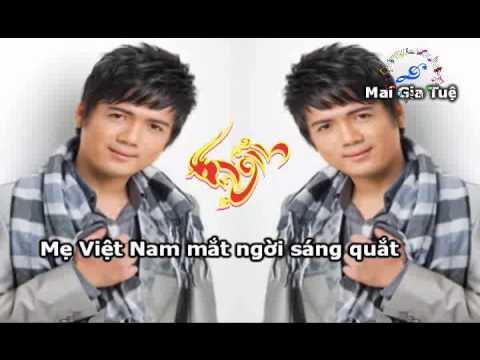 [KARAOKE DEMO 2015] HOA CAI MAI TOC (REMIX - BEAT CHUAN - Ca sy DAO PHI DUONG)
