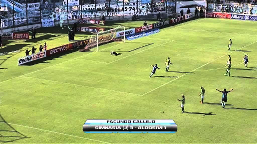 Gimnasia Jujuy 3-1 Aldosivi Mar del Plata