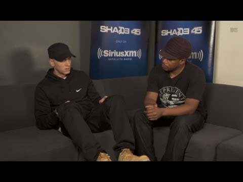 Eminem Talks 'The Monster' And Rihanna On Shade 45 With Sway