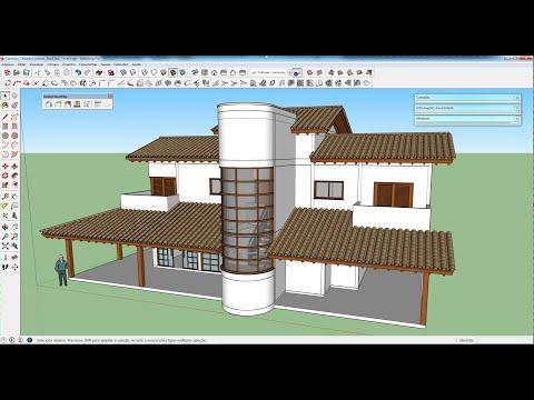 SketchUp 2015: Modelagem turbinada de telhados com o plugin Instant Roof Nui