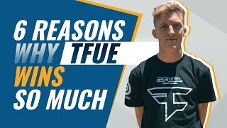 6 Reasons why Tfue WINS so much | Fortnite Battle Royale Tips
