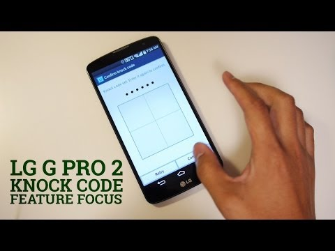 LG G Pro 2: Knock Code – Feature Focus
