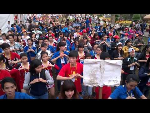 Nhảy flash mob Việt Nam ơi!