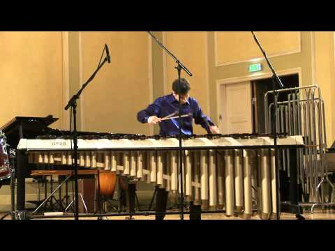 Edgars Raila J.S.Bach - Cello Suite No.3 in C dur Allemande (performed on Marimba)