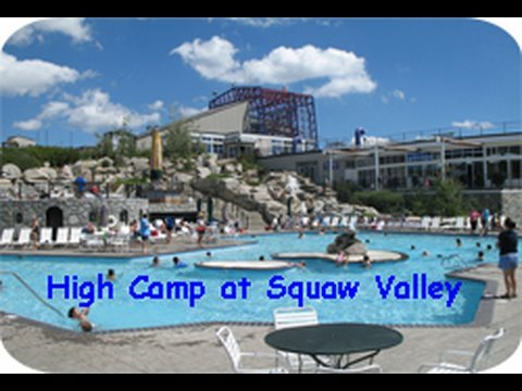 High Camp Swimming Pool At Squaw Valley Youtube