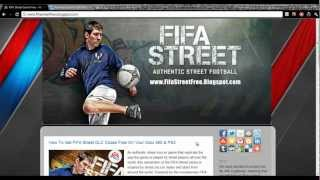 Download FIFA Street Game Free Xbox 360 PS3