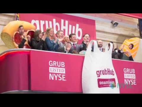 GrubHub Lists IPO on the New York Stock Exchange