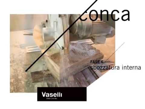 Vaselli Spirito Pietra - Lavorazioni