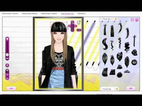 Stardoll Stardesign Hair 2      - YouTube