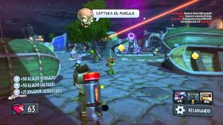 MALDITOS FRIJOLES!! PLANTAS VS ZOMBIES ( GARDEN WARFARE