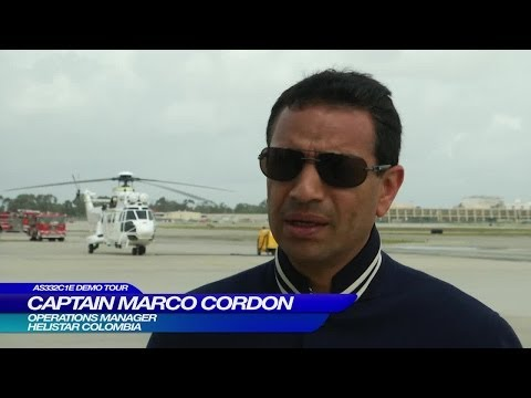 AS332 C1e Demo Tour - Marco Cordon, Helistar Colombia