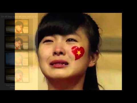 Nhật Lê - khóc cuối trận chung kết của U19 Việt Nam 2014