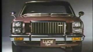 1977 MAZDA LUCE Ad