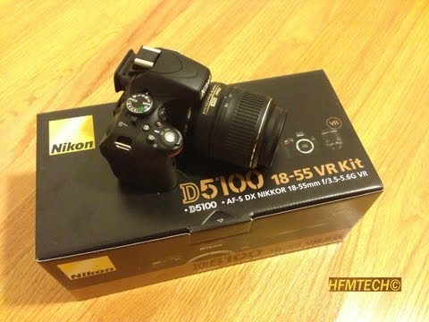 Nikon D5100 Unboxing 1080p HD Recording