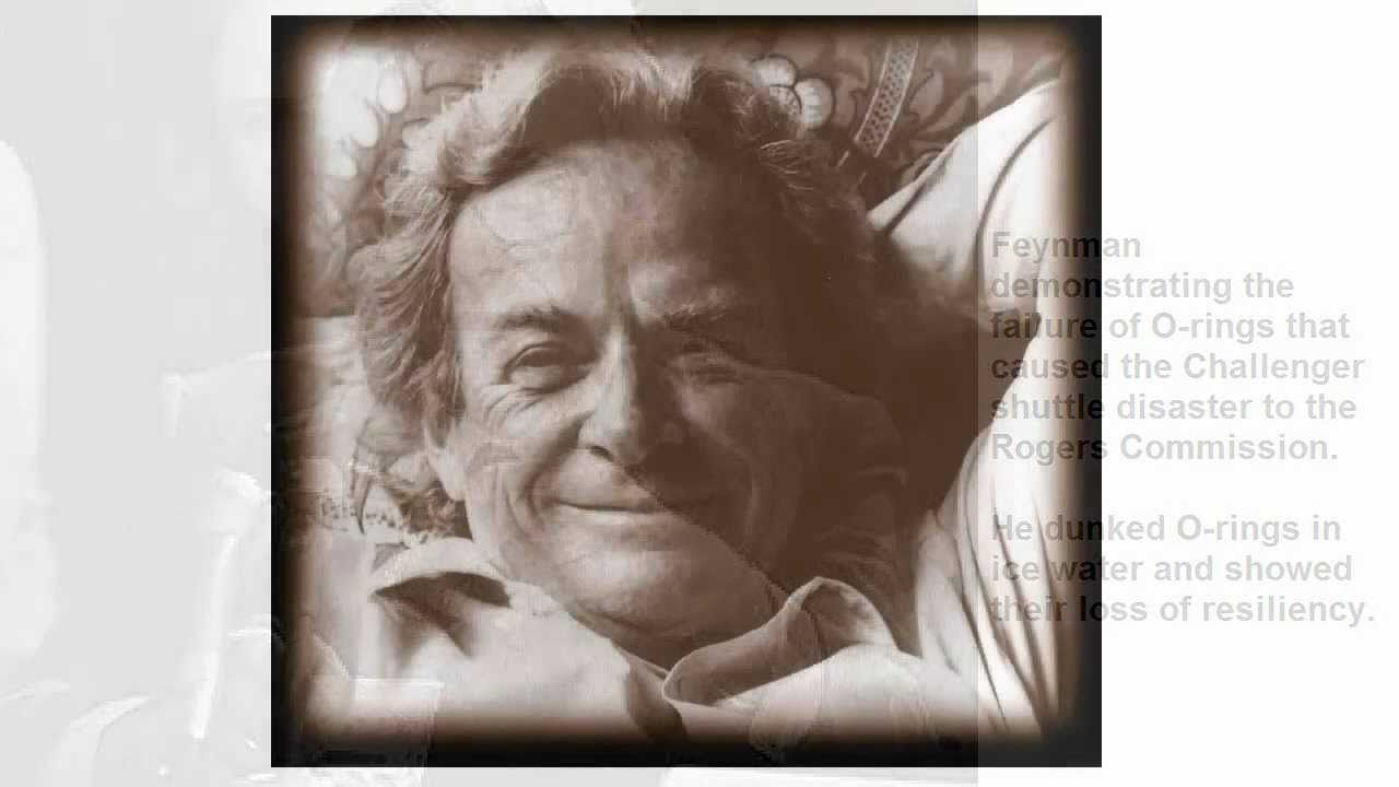 a review of the amateur scientist by richard feynman Richard feynman, winner of the nobel review: surely you're joking, mr feynman: adventures of a curious character user review - yinxi the amateur scientist 91.