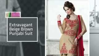 Ethnic Fashion Punjabi Suits 2014