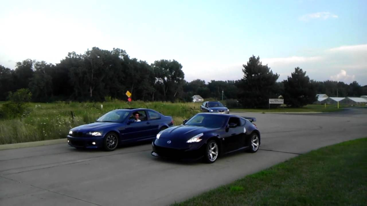 Nissan 370z Vs Bmw M3