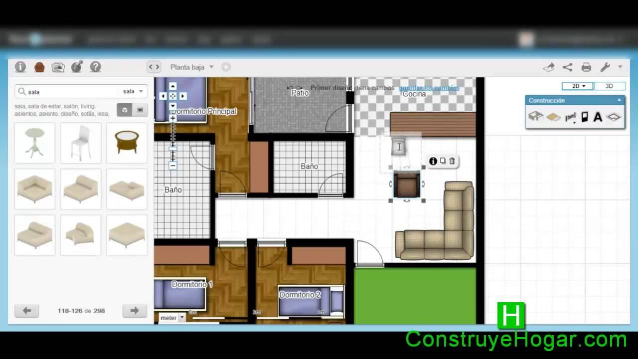 Como dise ar una casa paso a paso youtube for Programa para disenar planos de casas gratis