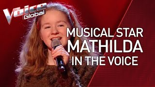 MUSICAL STAR 'Mathilda' auditions in The Voice Kids | STORIES #34