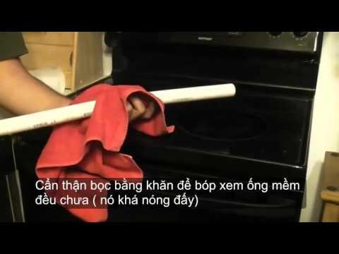 Cách làm cánh cung bằng ống nước PVC