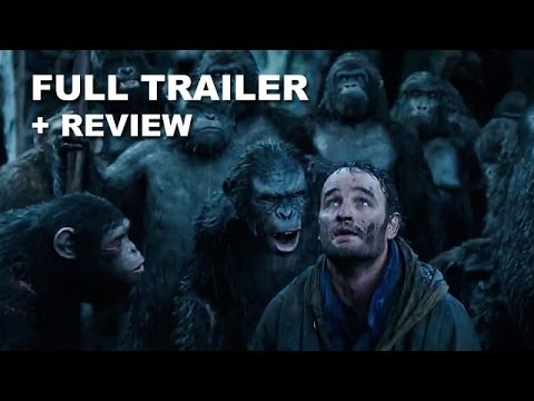 Dawn of the Planet of the Apes Official Trailer 2 + Trailer Review : HD PLUS