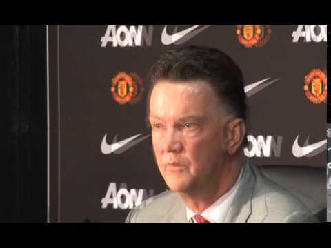 Longer version of the Louis Van Gaal press conference