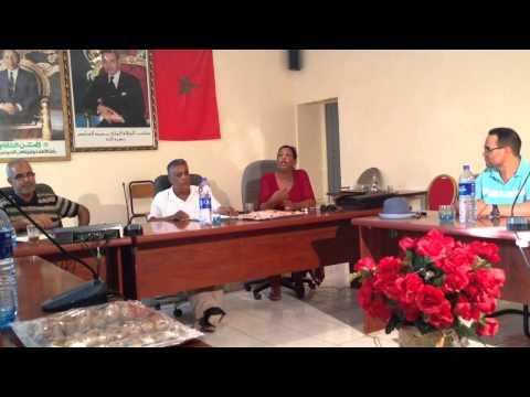 لقاء مع الجالية ببلدية تنجداد