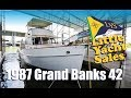 1987 Grand Banks 42 Trawler Yacht for sale at Little Yacht Sales Kemah Texas