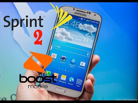 Flash Your Sprint Samsung Galaxy S4 To Boost Mobile
