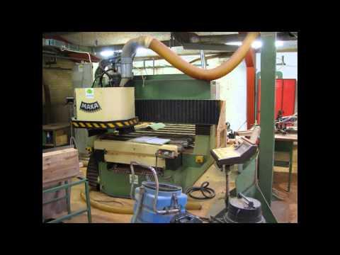 Przemysłowe maszyny stolarskie. Maszyny do drewna. Sprzedaż Giełda