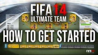 FIFA 14 Ultimate Team HOW TO GET STARTED! Coin Making