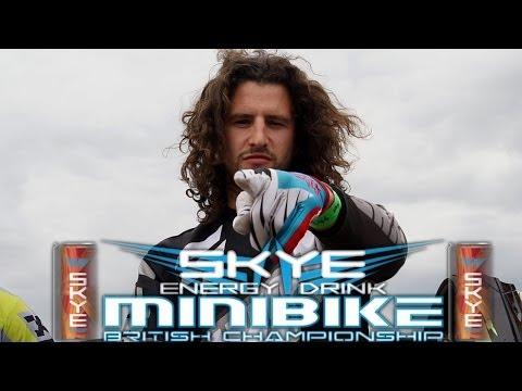 2014 Skye Energy Drink Minibike British Championship- RD 3