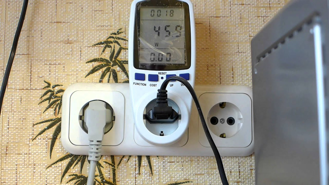 Бытовой ваттметр или измеритель мощности Power Meter