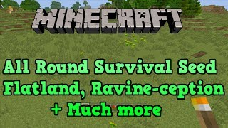 Minecraft PS3 + Xbox 360 Seed: FLAT LAND And Skeleton