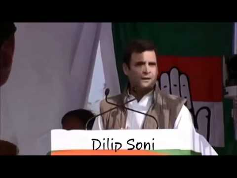 Just listen what Dumb Rahul Gandhi saying here