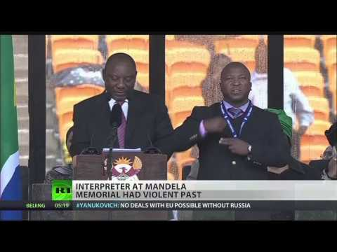 Mandela funeral's fake sign interpreter faced murder charges